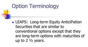 Options-long-terme-LEAPS-terminology